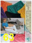 1991 Sears Spring Summer Catalog, Page 63