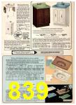 1975 Sears Spring Summer Catalog, Page 839