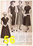 1957 Sears Spring Summer Catalog, Page 56