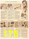 1956 Sears Fall Winter Catalog, Page 175