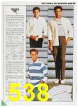 1985 Sears Fall Winter Catalog, Page 538