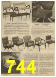 1959 Sears Spring Summer Catalog, Page 744