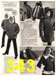 1973 Sears Fall Winter Catalog, Page 343