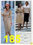 1985 Sears Spring Summer Catalog, Page 185