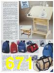 1985 Sears Fall Winter Catalog, Page 671