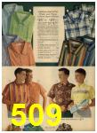 1962 Sears Spring Summer Catalog, Page 509