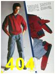 1985 Sears Fall Winter Catalog, Page 404