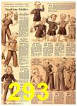 1940 Sears Fall Winter Catalog, Page 293