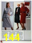 1986 Sears Fall Winter Catalog, Page 144