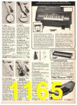 1978 Sears Fall Winter Catalog, Page 1165
