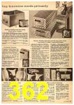 1962 Sears Fall Winter Catalog, Page 362