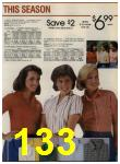1984 Sears Spring Summer Catalog, Page 133