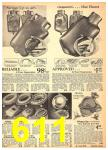 1940 Sears Fall Winter Catalog, Page 611