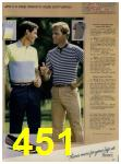 1984 Sears Spring Summer Catalog, Page 451