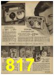 1962 Sears Spring Summer Catalog, Page 817