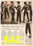 1958 Sears Fall Winter Catalog, Page 543