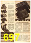 1960 Sears Fall Winter Catalog, Page 697