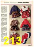 1973 Sears Fall Winter Catalog, Page 213