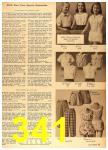1958 Sears Spring Summer Catalog, Page 341