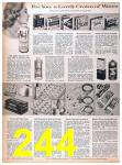1957 Sears Spring Summer Catalog, Page 244