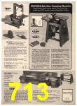 1973 Sears Fall Winter Catalog, Page 713