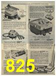 1965 Sears Fall Winter Catalog, Page 825