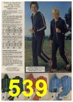 1979 Sears Fall Winter Catalog, Page 539