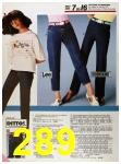 1986 Sears Spring Summer Catalog, Page 289