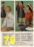 1960 Sears Spring Summer Catalog, Page 79