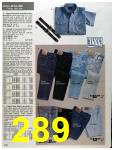 1993 Sears Spring Summer Catalog, Page 289