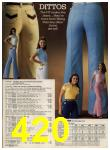 1979 Sears Spring Summer Catalog, Page 420