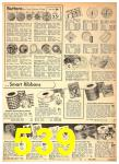 1942 Sears Spring Summer Catalog, Page 539