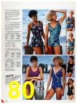 1986 Sears Spring Summer Catalog, Page 80