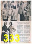 1957 Sears Spring Summer Catalog, Page 333