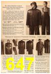 1963 Sears Fall Winter Catalog, Page 647