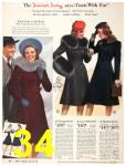 1940 Sears Fall Winter Catalog, Page 34