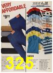 1987 Sears Spring Summer Catalog, Page 325