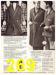 1969 Sears Fall Winter Catalog, Page 269