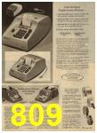 1965 Sears Spring Summer Catalog, Page 809