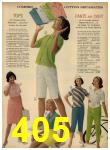 1962 Sears Spring Summer Catalog, Page 405