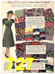 1940 Sears Fall Winter Catalog, Page 727