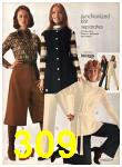 1971 Sears Fall Winter Catalog, Page 309
