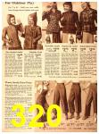 1940 Sears Fall Winter Catalog, Page 320
