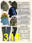 1972 Sears Fall Winter Catalog, Page 315