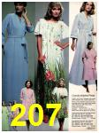 1981 Sears Spring Summer Catalog, Page 207