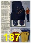 1980 Sears Fall Winter Catalog, Page 187
