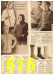 1962 Sears Fall Winter Catalog, Page 515