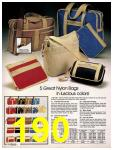 1981 Sears Spring Summer Catalog, Page 190