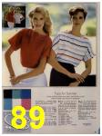 1984 Sears Spring Summer Catalog, Page 89