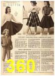1956 Sears Fall Winter Catalog, Page 360